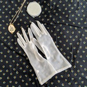 Vintage Sheer Gloves